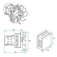 WС-149 Вентилятор вытяжной