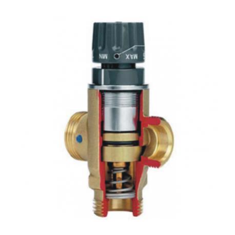 Термостатический смесительный клапан для отопления KT1
