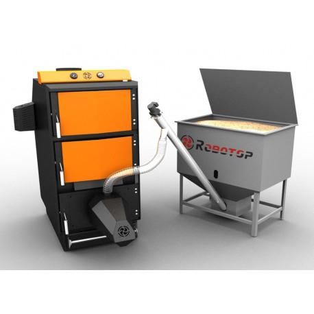 Пеллетный котел полный комплект Robotop UPB 35