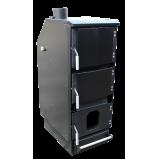 Универсальный твердотопливный котел (теплообменник) Robotop UPB 45