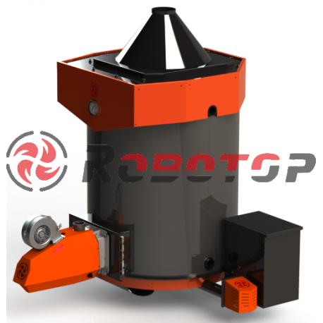 Пеллетный котел Robotop AUTO 30 кВт в сборе